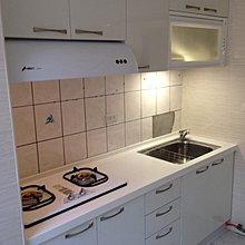 小家庭經濟款 韓國人造石流理台 系統廚具 有門市可看 美觀有質感 210cm搭豪山三機 等你來訂做