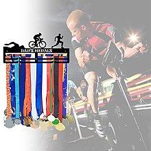 馬拉松獎牌展示架掛架 運動金屬獎牌收納展示架(紙盒)SH雜貨999