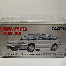 絕版 Takara Tomy Tomica Limited Vintage Neo Tomytec LV-N35c Honda CR-X Si