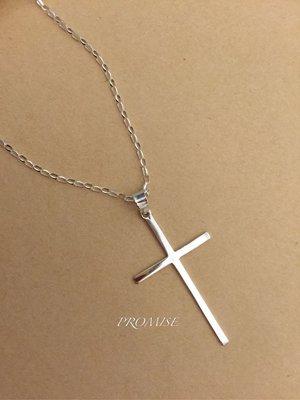 個性風十字架925純銀項墜(單墜未含鍊)  ·{PROMISE}