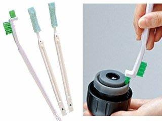 *享購天堂*日本製造保溫瓶蓋清潔組【三入】瓶栓間隙清洗刷具組 牙刷頭 彈蓋保溫瓶 象印 三光 膳魔師 基隆市