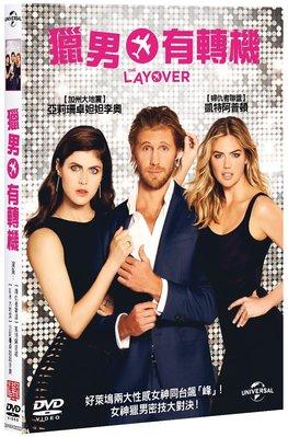 合友唱片 面交 自取 獵男有轉機 The LAYOVER (DVD)