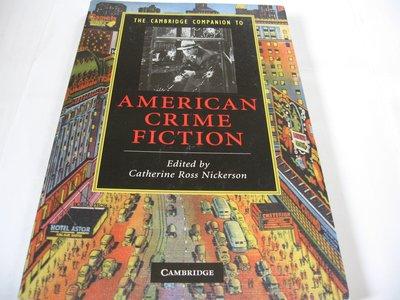 Cambridge Companion to American Crime Fiction 英文書一般平裝 犯罪小說專論