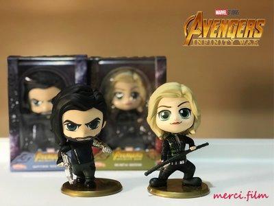 黑寡婦 Black Widow / 寒冬戰士 Winter Soldier Hot Toys Cosbaby