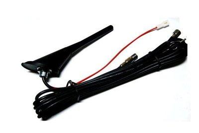 飛馳車部品~2短天線含強波器(非裝飾的喔)~自動天線可以改裝exsior premio ce hv e30 e28