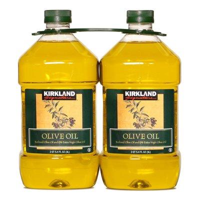 下標先詢問 Kirkland Signature 科克蘭 純橄欖油(3公升*2入)COSTCO好市多代購