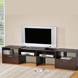 現折100元  MIT自由設計伸縮電視櫃 視聽櫃   收納櫃  書櫃 高低櫃  LS-11