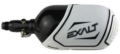 [三角戰略漆彈] EXALT 防滑矽膠 3/4 氣瓶套 68-90ci - 白色 (漆彈槍,氣動槍,CO2直壓槍)