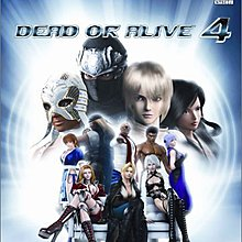 XBOX360 生死格鬥 4 初回版 (Dead or Alive 4) 純日版 全新品