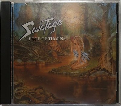 Savatage - Edge Of Thorns 無IFPI 二手美版