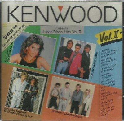 KENWOOD DISCO HITS V.2 日本版CD冇花 LONDON BOYS BAD BOYS BLUE CC CATCH LABAN JOY