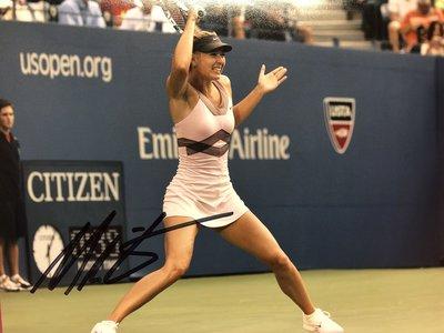 ACE 網球前世界冠軍球后 瑪麗亞沙拉波娃 彩高解析劇照+COA認證照片