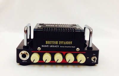 立昇樂器 Hotone Nano Legacy British Invasion 5瓦 迷你 電吉他音箱頭