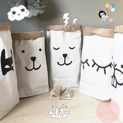 Sis 歐美 時尚 玩具收納 牛皮紙袋 兒童房 嬰兒 玩具 IKEA 家飾品