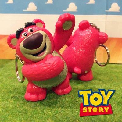 迪士尼 玩具總動員 熊抱哥 舉手熊抱哥 鑰匙圈 吊飾 鑰匙扣 玩具 公仔 扭蛋(另有 胡迪 巴斯