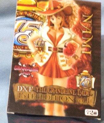 全新景品 海賊王 DXF 15TH EDITION vol.1 娜美
