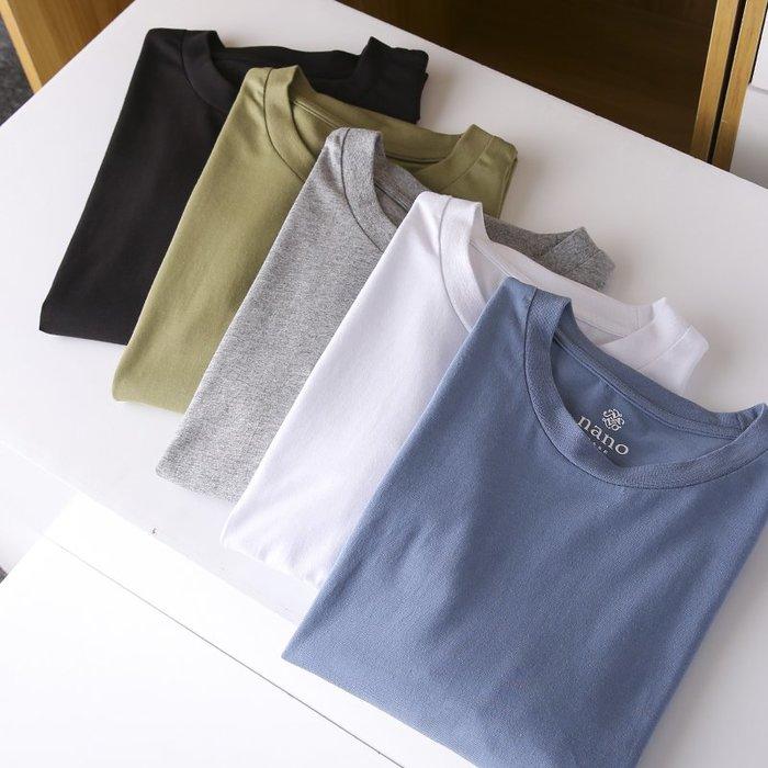 [C.M.平價精品館]M~3XL/簡約百搭舒適純棉素面短袖T恤
