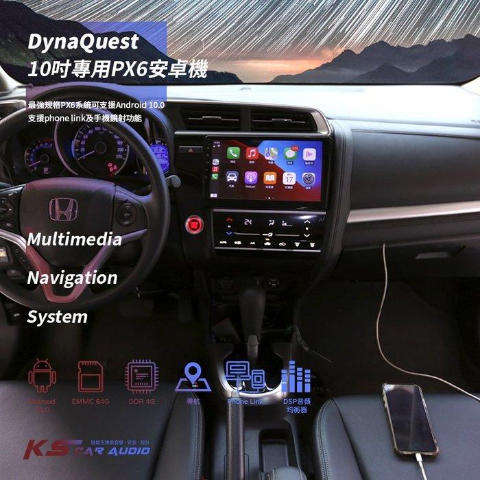 M1Q DynaQuest PX6 最高端的安卓機 Phone link HONDA FIT DMV-1001A