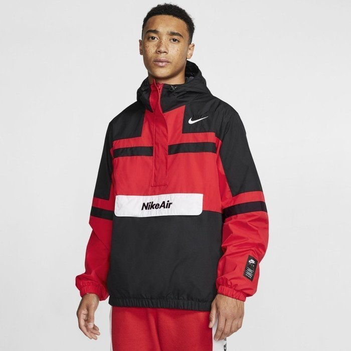 GOSPEL【 Nike NSW AIR JACKET WOVEN 】衝鋒衣 防風 連帽 刺繡LOGO 男款