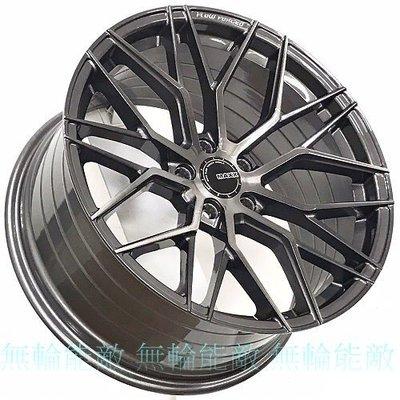 全新鋁圈 MAXX M11 19吋 5孔114.3  5孔112  5孔120 灰底刷髮絲面+灰透明漆 旋壓鋁圈