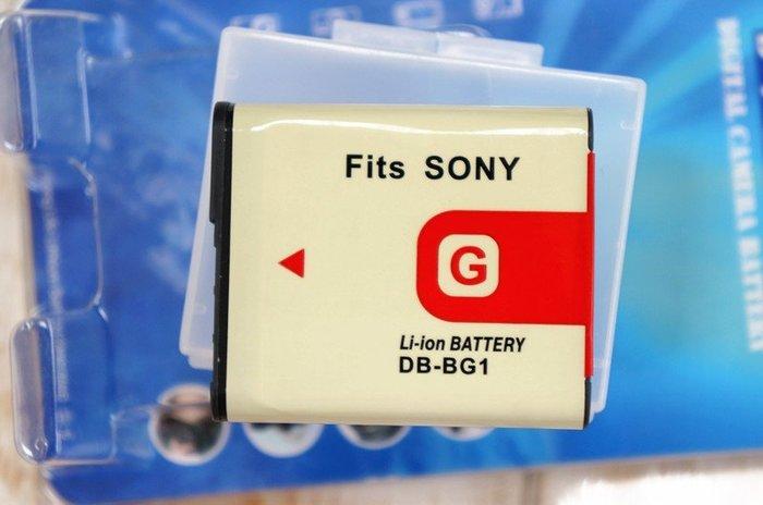 【中壢NOVA-水世界】SONY DB-NP-BG1 NP-BG1 BG1 副廠 充電電池 副電【一年保固直接換新】