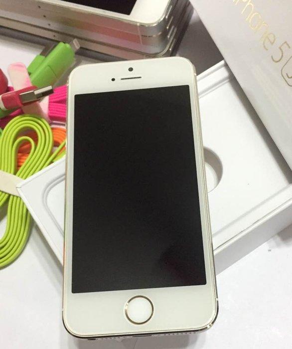 ☆手機寶藏點☆iPhone5s 16G 金 4吋 公司貨 實體拍攝 5,000元 羅a26