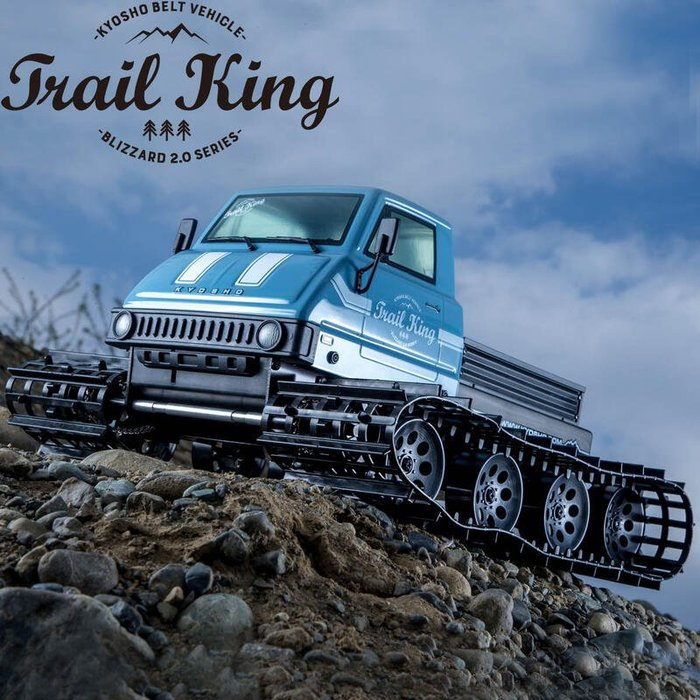大千遙控模型  34903T2 1/12 EP Trail King Color Type 2 探險號電動履帶車 (藍色