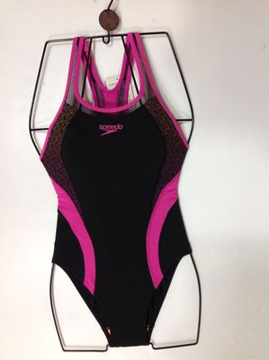 Speedo 泳裝 連身泳裝 運動連身泳裝 側邊修飾設計