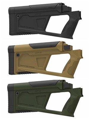 【BCS武器空間】SRU SRQ AK GBB 槍托 適用GHK/WE AK(共三色)-SRU-Q-STK-AK-BK