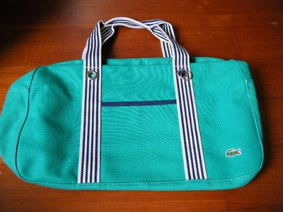 Lacoste 【 鱷魚 】 肩背手提大方包  / 書包