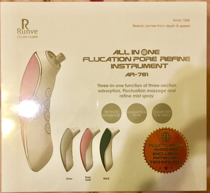 All In One 波能毛孔煥膚儀Fluctuation Pore Refine Instrument AR-781