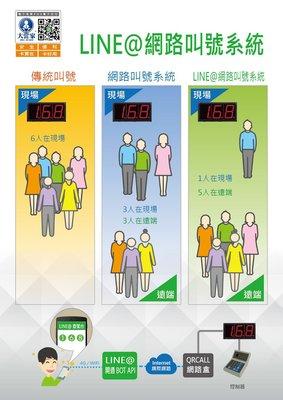 【3CGOGO】LINE@網路叫號系統 官方AI機器人 月租3000元 設計費另計