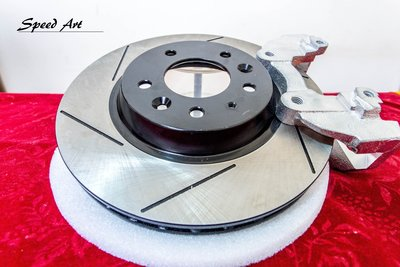 【Speed Art】FORD 福特 FIESTA TIERRA 302mm 台製 前後加大碟 加大碟盤 特價中