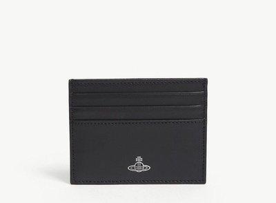 (預購)英國VIVIENNE WESTWOOD 簡約皮革卡夾 Alex card holder