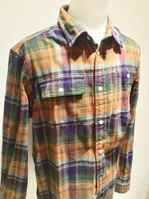 全新 Polo by Ralph Lauren 格紋襯衫 RL 現貨 XL號(18-20) 國外小孩大碼 有兩色