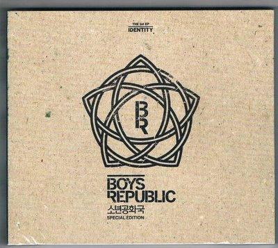 [鑫隆音樂]韓語CD:少年共和國-Identity(特性) [3762549]  全新/免競標