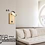 【168 Lighting】美好時光《LED壁燈》(兩色)金色GE 81100-2