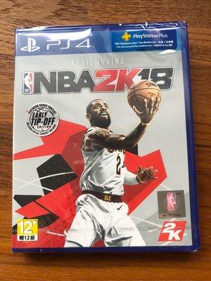 全拍賣最低價 全新未拆封 NBA PS4 2K18 厄文 封面