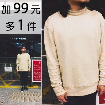 M.O.S1126 香港RAFF Tutleneck Sweater 高領毛衣 卡其米 沙子色 長袖 復古 男女