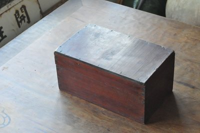 【民藝時代】日治時代 小檜木箱
