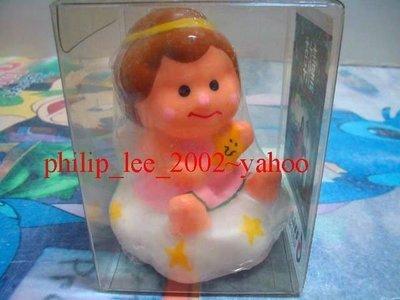 薰衣草 Lavender angel 小天使 蠟燭 2001 電影宣傳紀念品 ~全新!