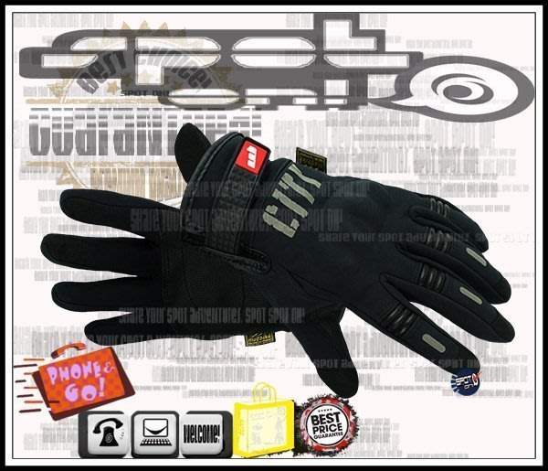 Spot ON -2019 MADBIKE MAD07B CITY 隱藏護具電容觸控手套!WEISE 焢土窯 MAD07