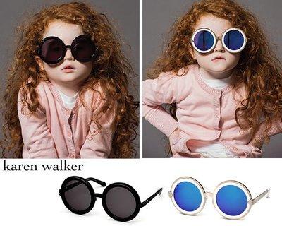 Karen Walker►Peek-A-Boo 大圓框 太陽眼鏡 墨鏡 100%全新正品 數量稀少!即將斷貨!