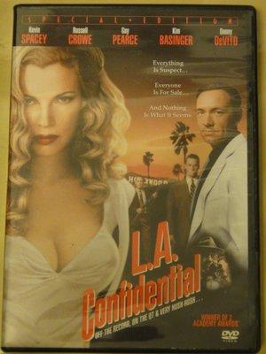 L.A. Confidential 鐵面特警隊 凱文史貝西 金貝辛格 羅素克洛 蓋皮爾斯 詹姆斯克隆威爾