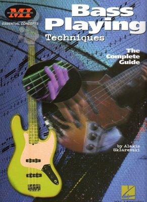 [反拍樂器] MI進口教材 Bass Playing Techniques