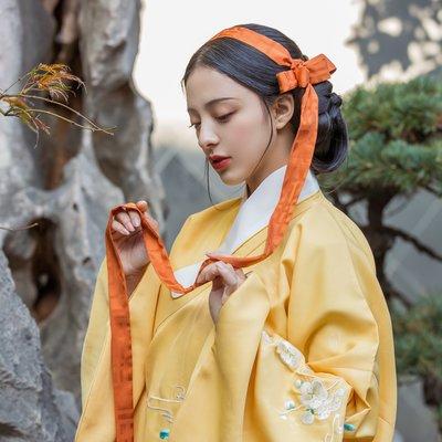 星閣小屋 漢服古風 Basic 漢服女裝配飾 暗紋提花綢 腰帶發帶攀膊 3米 10色 觀止織造 服飾