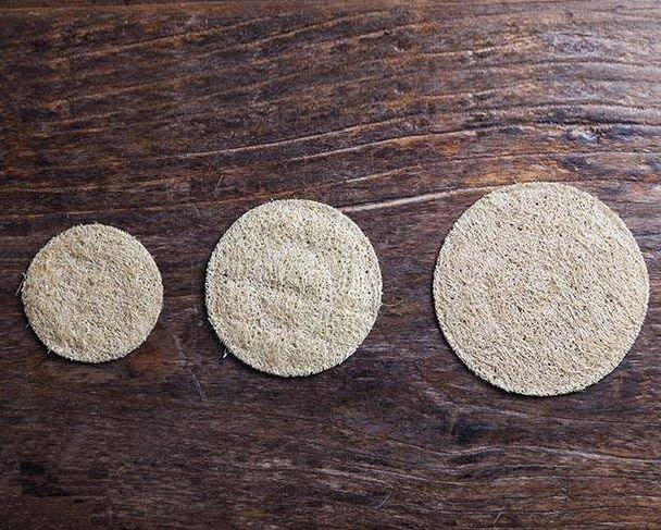 天然絲瓜絡養壺墊 (小) 可以堂普洱茶苑