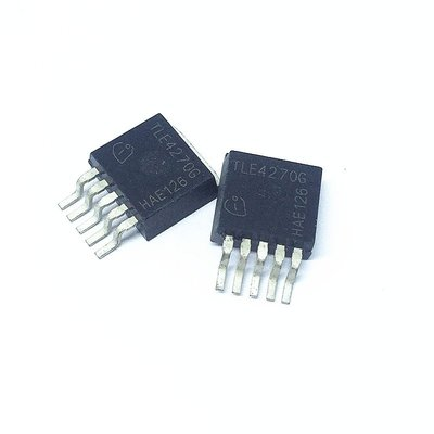 線性穩壓器 TLE4270G TO-263-5 650mA/5V W142-3 [328218]