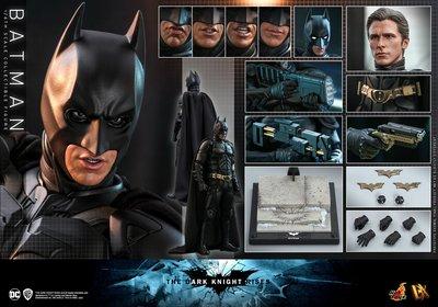 【精選】HOTTOYS HT 1/6 DX19 蝙蝠俠 黑暗騎士崛起 Batman 3.0 貝爾 接單【哆啦小鋪】