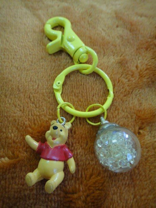 手作-小熊維尼 萬用鑰匙圈